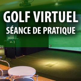 Certificat cadeau - Séance de pratique de golf virtuel