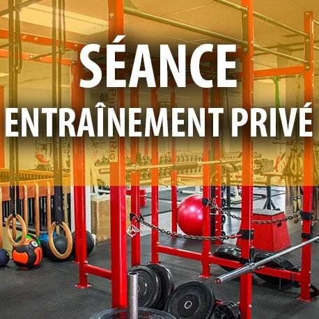 Séance d'entraînement privé