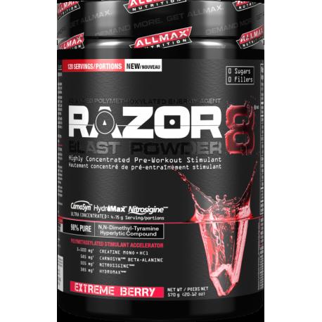 Allmax Razor 8 blast