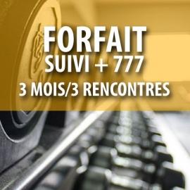 Certificat cadeau - Forfait Suivi + 777 (3 mois/3 rencontres)