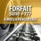 Certificat cadeau - Forfait Suivi + 777 (6 mois/6 rencontres)