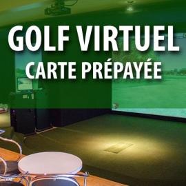Carte prépayée pour le golf virtuel