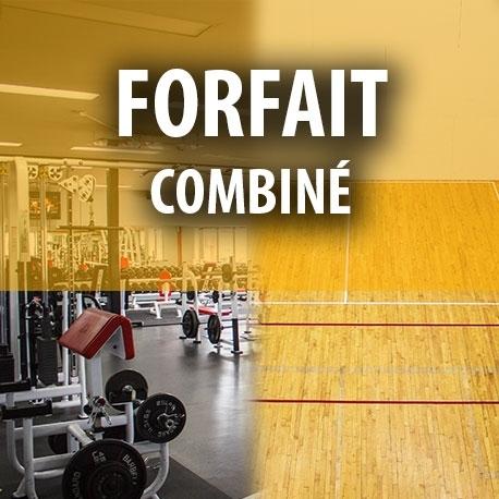 Certificat cadeau - Forfait combiné (Conditionnement et sports de raquettes)