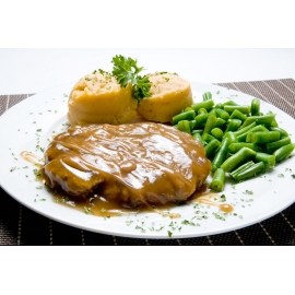 Hamburger steak de luxe